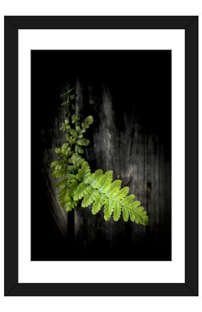Green Power Framed Art Print
