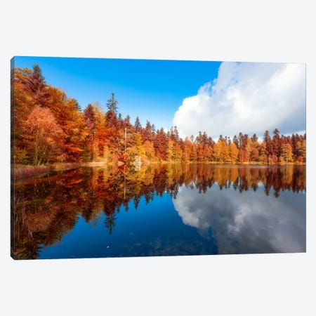 Lake Of The Maix Canvas Print #PSL94} by Philippe Sainte-Laudy Canvas Art