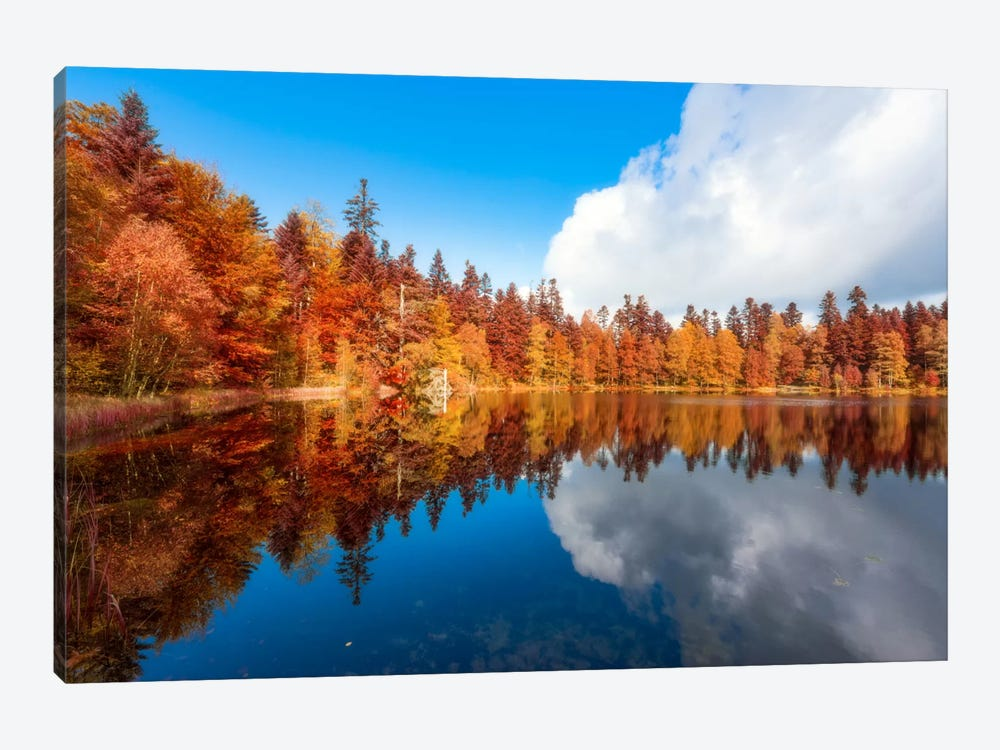 Lake Of The Maix by Philippe Sainte-Laudy 1-piece Canvas Art Print