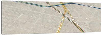 Atlantic Avenue - Barclays Center Suwbay Cluster Canvas Art Print