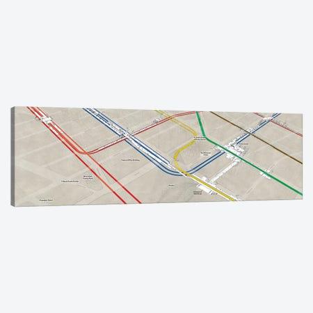 Manhattan World Trade Center Subway Cluster Canvas Print #PSN83} by Project Subway NYC Canvas Art