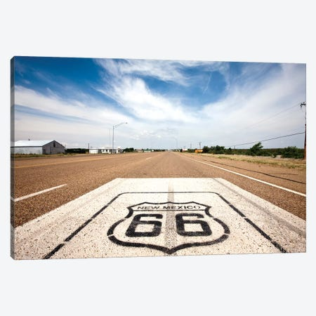 U.S. Route 66 Highway Marker, Tucumcari, Quay County, New Mexico, USA Canvas Print #PSO12} by Paul Souders Canvas Art