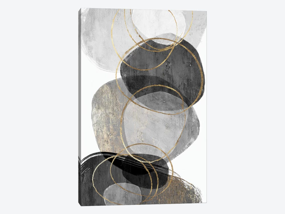 Conglomerate I by PI Studio 1-piece Canvas Wall Art