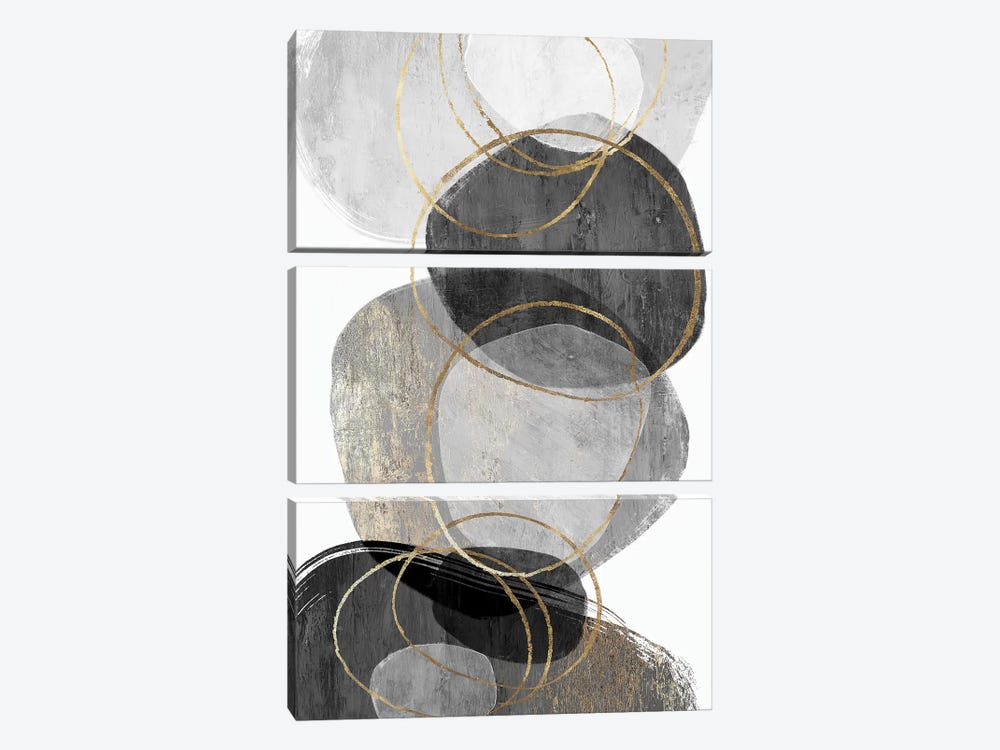 Conglomerate I by PI Studio 3-piece Canvas Art