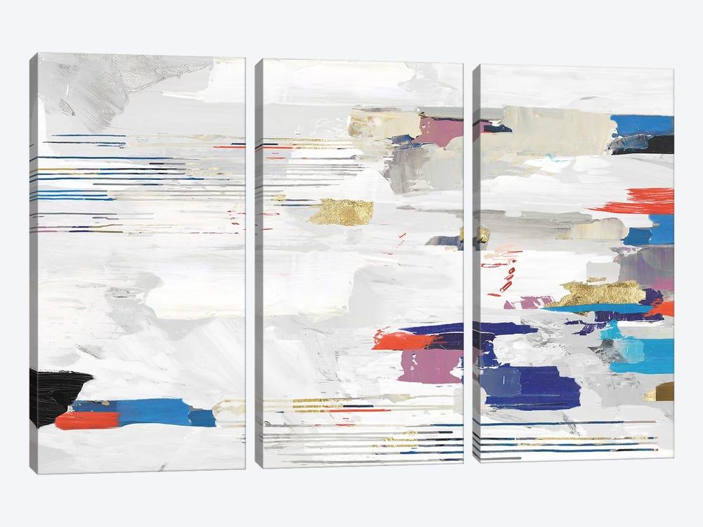 Kinetic Colors II by PI Studio 3-piece Canvas Art Print