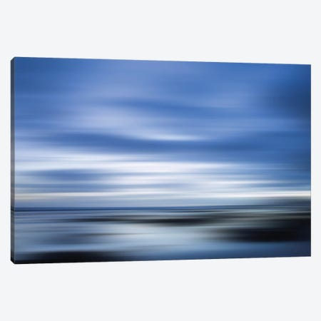 Blue Canvas Print #PST106} by PI Studio Canvas Wall Art