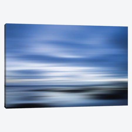 Blue Canvas Print #PST106} by PI Studio Canvas Wall Art