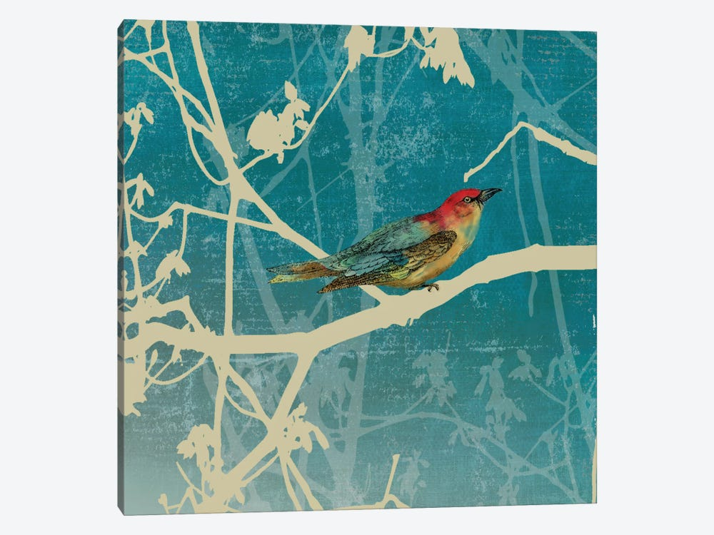 Blue Bird I by PI Studio 1-piece Canvas Art Print