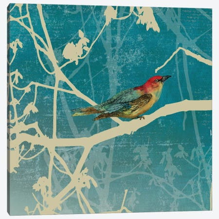 Blue Bird I Canvas Print #PST108} by PI Studio Art Print