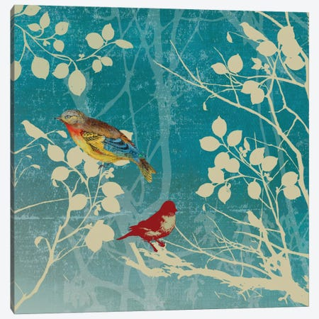 Blue Bird II Canvas Print #PST109} by PI Studio Art Print