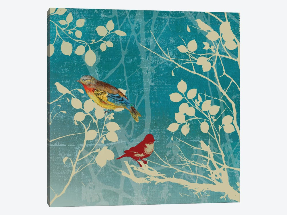 Blue Bird II by PI Studio 1-piece Canvas Art