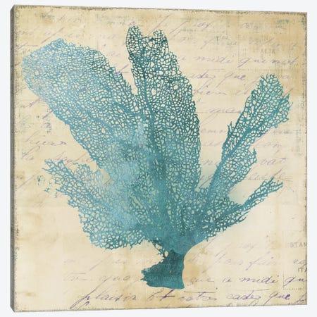 Blue Coral I Canvas Print #PST110} by PI Studio Canvas Artwork