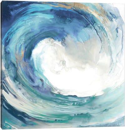 Water Collar Canvas Art Print