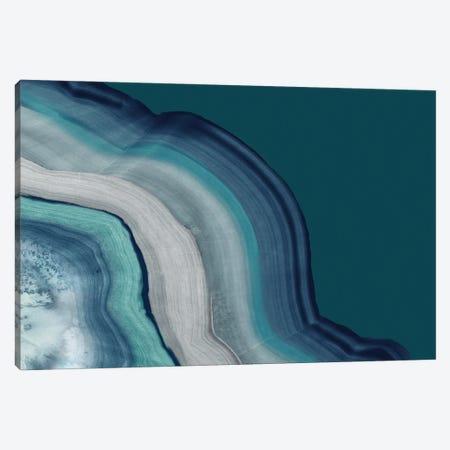 Agate Deep Blue Sea Canvas Print #PST1143} by PI Studio Canvas Artwork