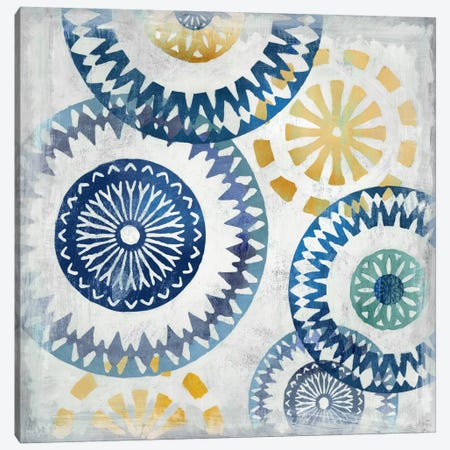 Blue Ease I Canvas Print #PST114} by PI Studio Art Print