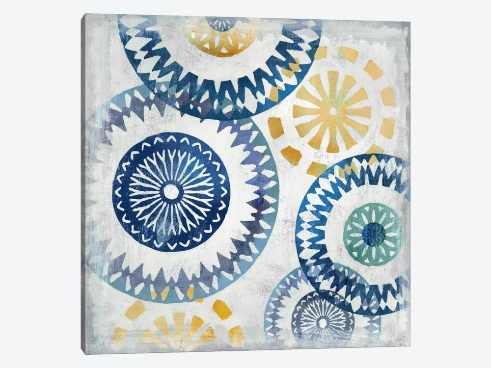 Blue Ease I by PI Studio 1-piece Canvas Wall Art
