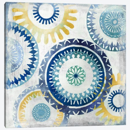 Blue Ease II Canvas Print #PST115} by PI Studio Canvas Print