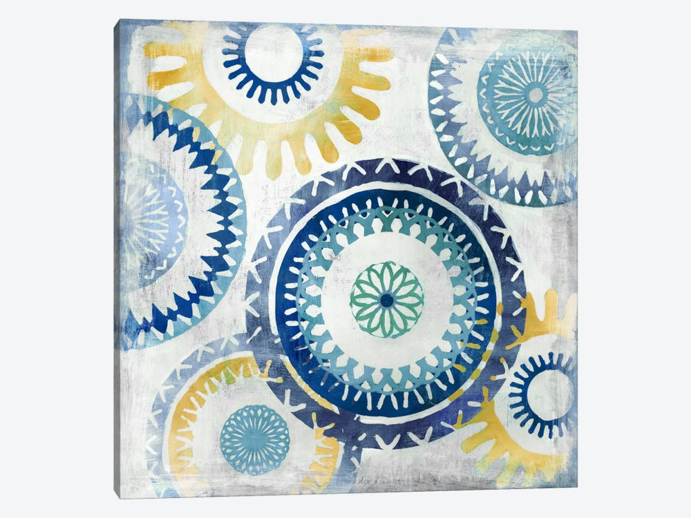 Blue Ease II by PI Studio 1-piece Art Print
