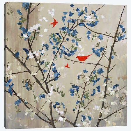 Blue Glory 3-Piece Canvas #PST117} by PI Studio Canvas Art Print