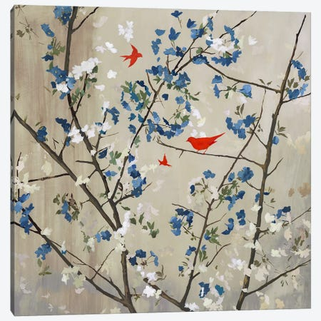 Blue Glory Canvas Print #PST117} by PI Studio Canvas Art Print