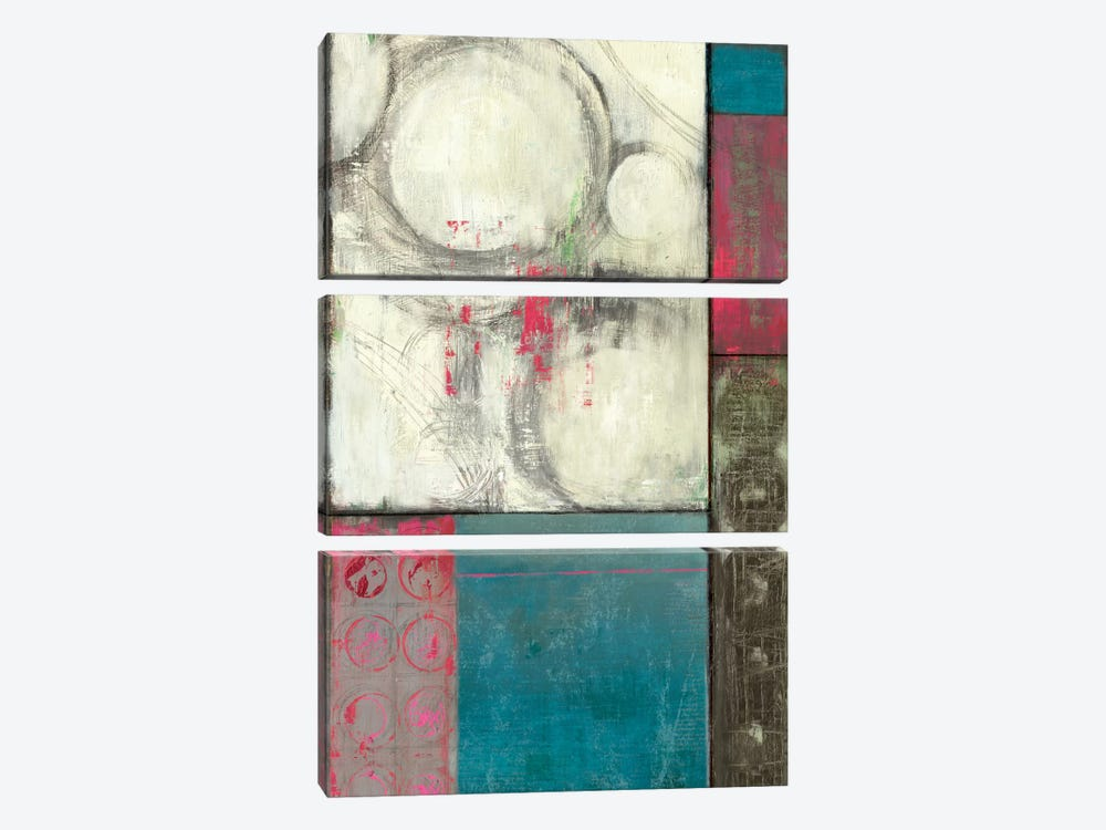 Blue In Motion by PI Studio 3-piece Canvas Wall Art