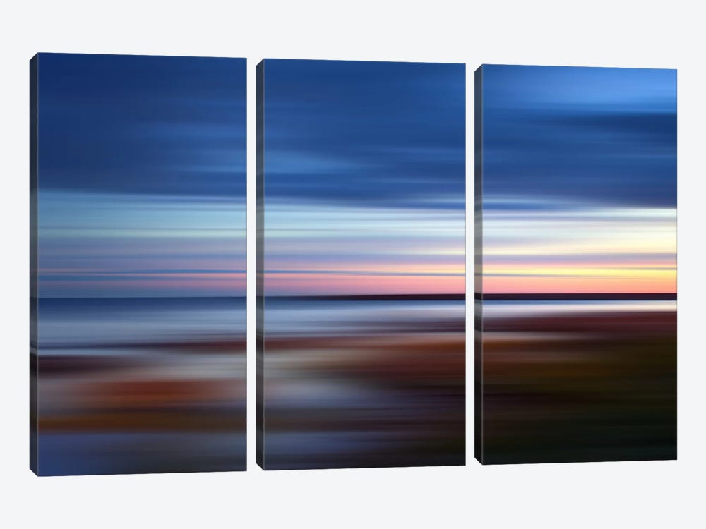 Blue On The Horizon by PI Studio 3-piece Canvas Print