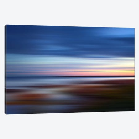 Blue On The Horizon Canvas Print #PST120} by PI Studio Canvas Art Print