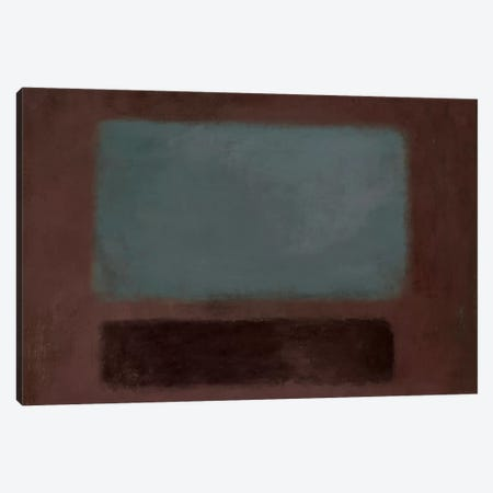 Blue Rush Canvas Print #PST121} by PI Studio Canvas Print