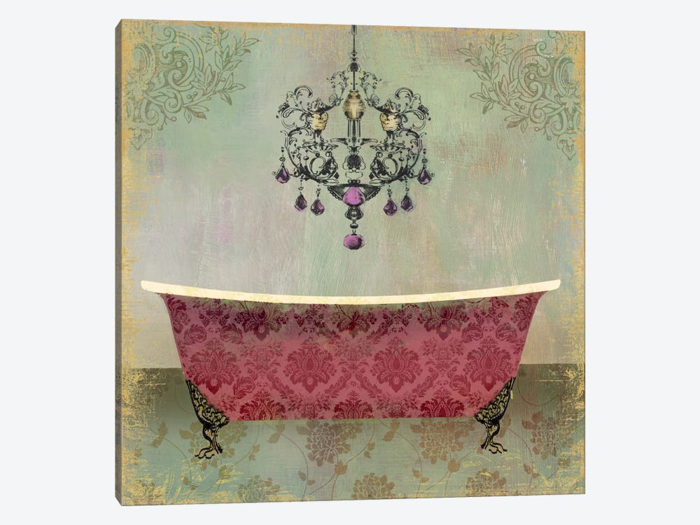 Boudoir Bath II by PI Studio 1-piece Canvas Art Print
