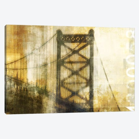 Bridge Canvas Print #PST132} by PI Studio Canvas Wall Art