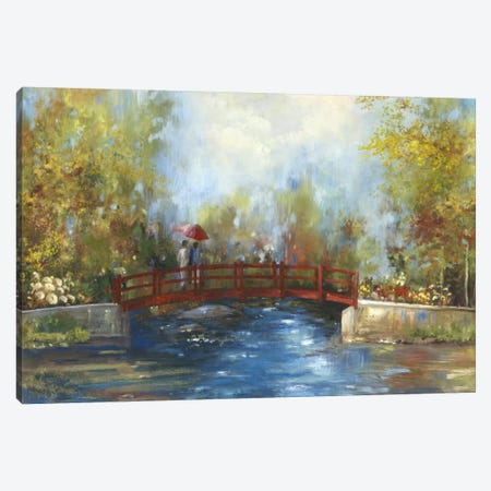 Bridge Over The Water Canvas Print #PST133} by PI Studio Canvas Artwork