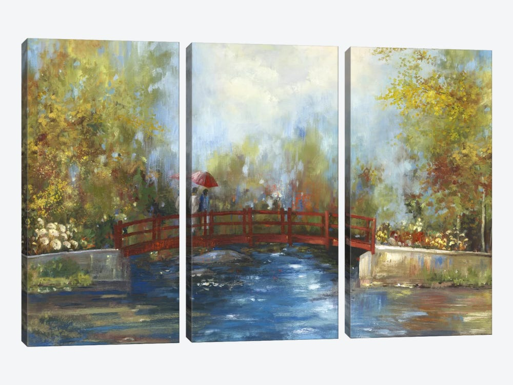 Bridge Over The Water by PI Studio 3-piece Canvas Art Print