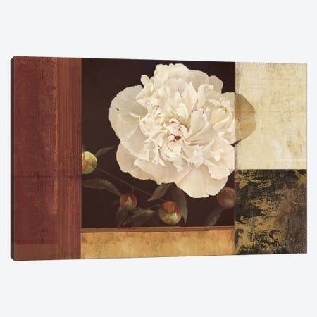 Bronzed Floral Canvas Print #PST135} by PI Studio Canvas Art Print