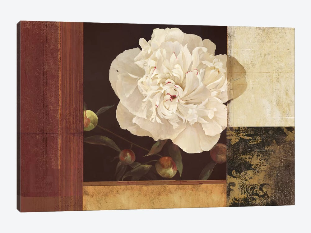 Bronzed Floral by PI Studio 1-piece Art Print