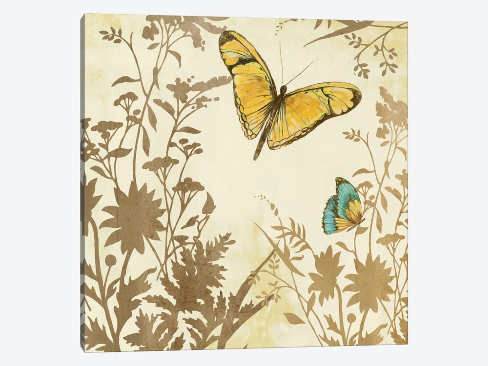 Butterfly In Flight I by PI Studio 1-piece Canvas Art