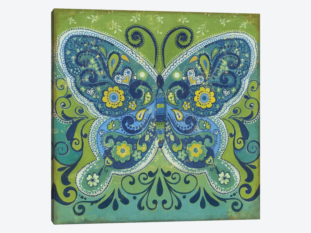 Butterfly Mosaic by PI Studio 1-piece Canvas Art Print
