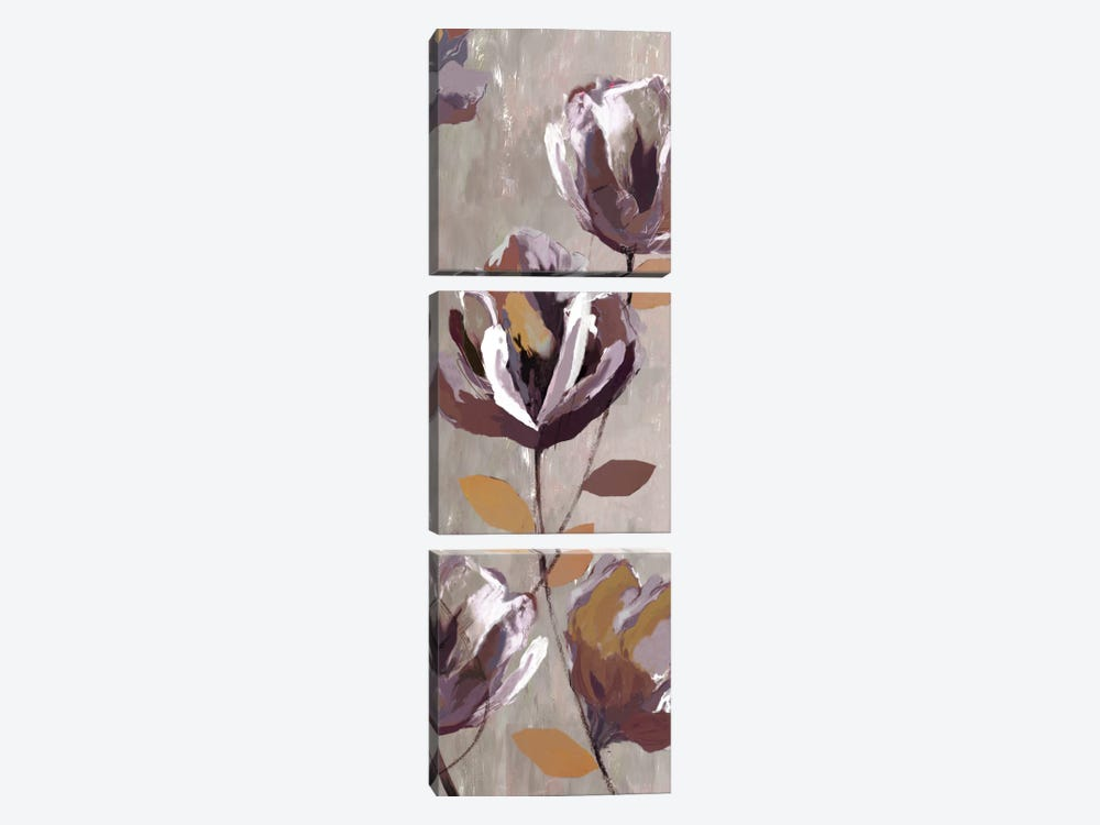 Cameroon Floral I by PI Studio 3-piece Canvas Artwork