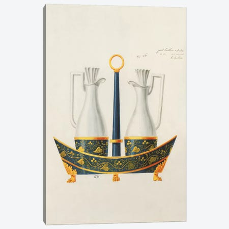 Carafe IV Canvas Print #PST153} by PI Studio Canvas Artwork