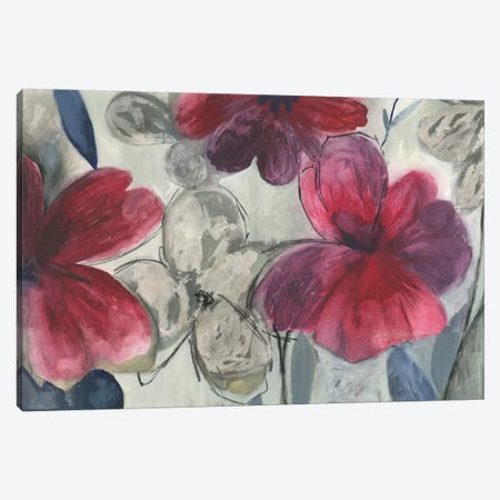 Cartagena Floral Canvas Print #PST156} by PI Studio Art Print
