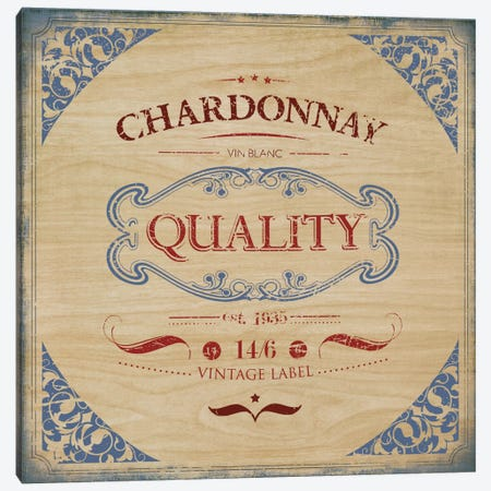 Chardonnay Canvas Print #PST160} by PI Studio Canvas Print