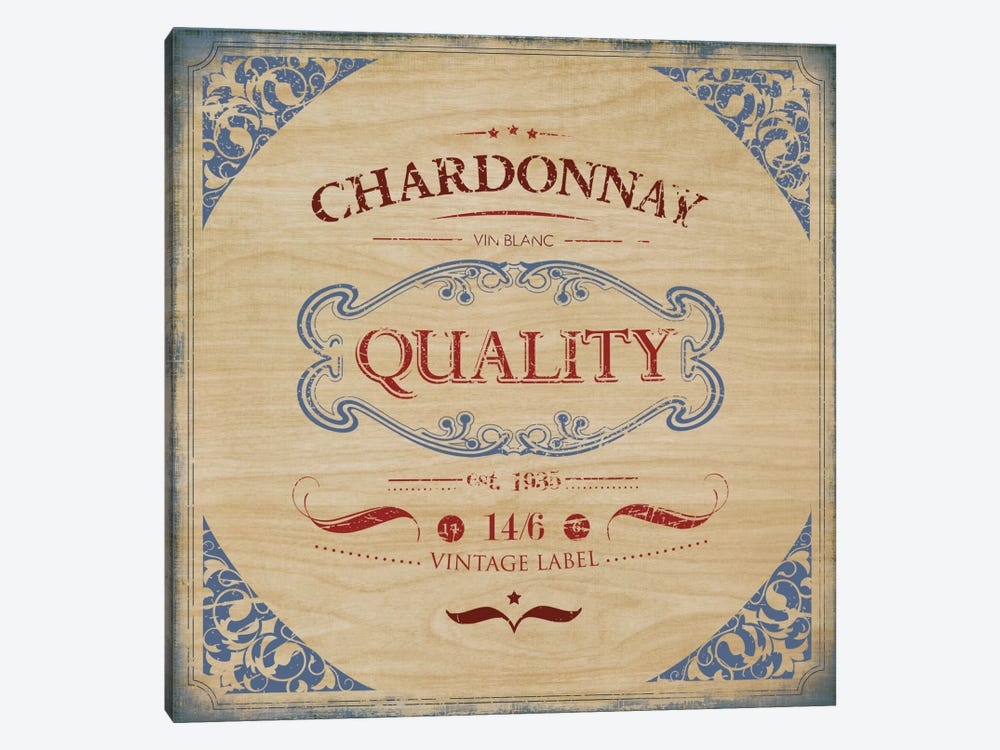 Chardonnay by PI Studio 1-piece Canvas Art Print