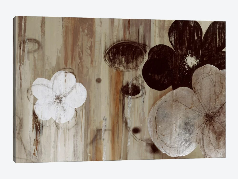 Chocolate And Silver by PI Studio 1-piece Canvas Wall Art