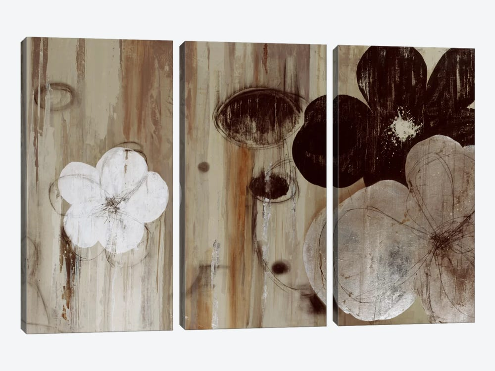 Chocolate And Silver by PI Studio 3-piece Canvas Artwork