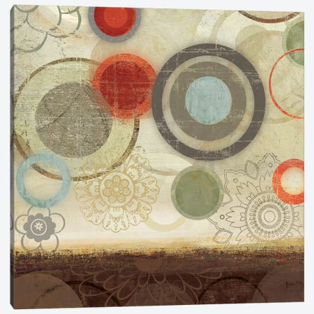 Circles II Canvas Print #PST168} by PI Studio Canvas Print