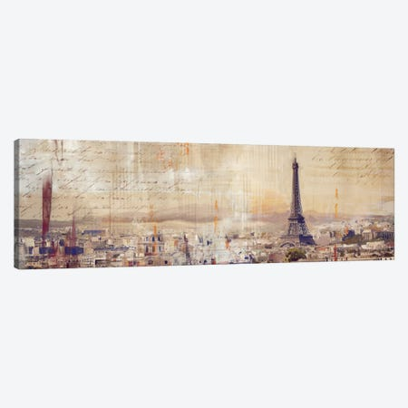 City Of Light Canvas Print #PST169} by PI Studio Canvas Art Print