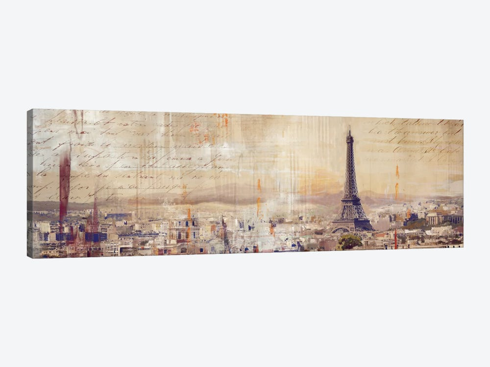 City Of Light by PI Studio 1-piece Canvas Wall Art