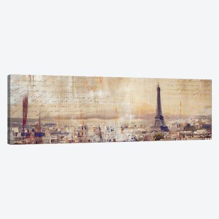 City Of Light Canvas Print #PST169} by PI Studio Canvas Art Print