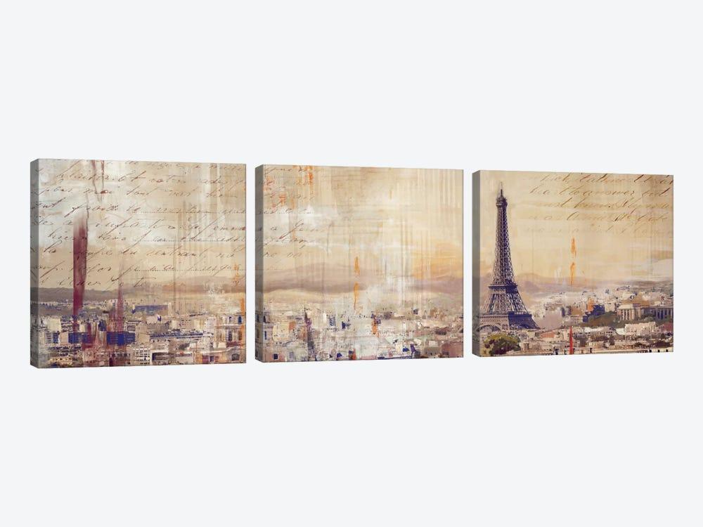 City Of Light by PI Studio 3-piece Canvas Artwork