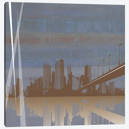 Cityscape Canvas Print #PST170} by PI Studio Canvas Wall Art