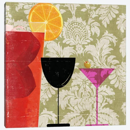 Cocktail II Canvas Print #PST174} by PI Studio Canvas Art Print